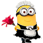 sticker-minion-soubrette